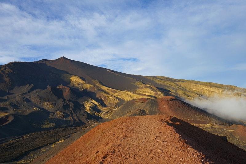 trekking Etna